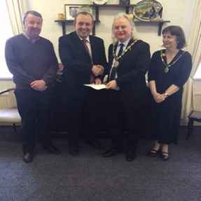 Donation from llanelli rural council