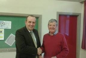 Donation from pontlliw & tircoed council